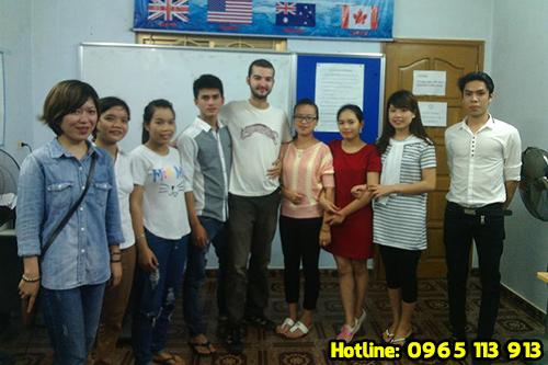 Lớp học tiếng Đức tại Hải Phòng